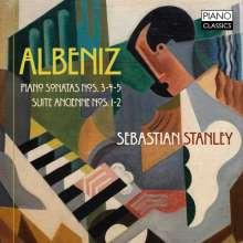 Isaac Albeniz (1860-1909): Klaviersonaten Nr.3-5, CD