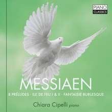 Olivier Messiaen (1908-1992): Preludes für Klavier Nr.1-8, CD