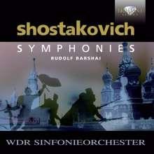 Dimitri Schostakowitsch (1906-1975): Symphonien Nr.1-15, 11 CDs