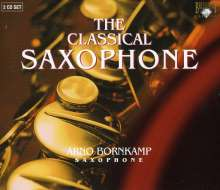 Arno Bornkamp - The Classical Saxophone, 2 CDs