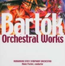 Bela Bartok (1881-1945): Orchesterwerke, 6 CDs