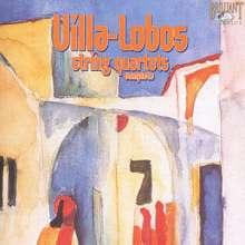 Heitor Villa-Lobos (1887-1959): Streichquartette Nr.1-17, 6 CDs