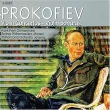 Serge Prokofieff (1891-1953): Violinkonzerte Nr.1 & 2, 2 CDs