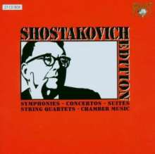 Dmitri Schostakowitsch (1906-1975): Schostakowitsch Edition (Brilliant Classics), 27 CDs