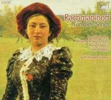 Sergej Rachmaninoff (1873-1943): Sämtliche Lieder, 3 CDs