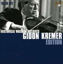 Gidon Kremer - Historical Russian Archives, 10 CDs