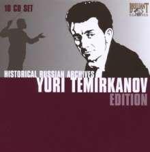 Yuri Temirkanov  - Historical Russian Archives, 10 CDs