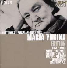 Maria Yudina - Historical Russian Archives, 8 CDs