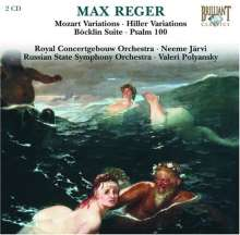 Max Reger (1873-1916): Orchester-Variationen, 2 CDs