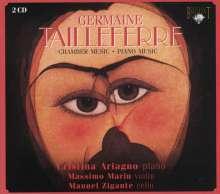 Germaine Tailleferre (1892-1983): Klavierwerke, 2 CDs