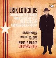 Erik Lotichius (geb. 1929): Klavierkonzert Nr.2, CD