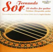 Fernando Sor (1778-1839): 20 Studies for Guitar, CD