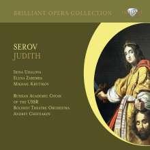 Alexander Serow (1820-1871): Judith (Oper), 2 CDs