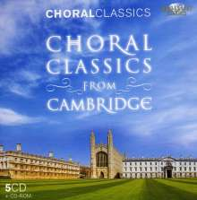Choral Classics from Cambridge, 5 CDs