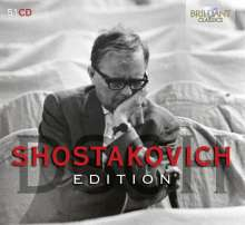 Dmitri Schostakowitsch (1906-1975): Schostakowitsch Edition, 51 CDs
