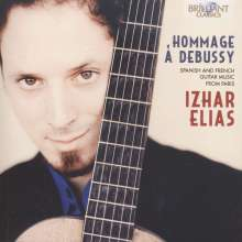 Izhar Elias - Hommage A Debussy, CD