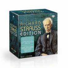 Richard Strauss (1864-1949): Richard Strauss Edition, 35 CDs