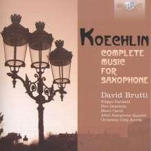 Charles Koechlin (1867-1950): Sämtliche Werke für Saxophon, 3 CDs