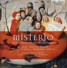 Misterio - Ritual Music For An Uncertain Age, CD