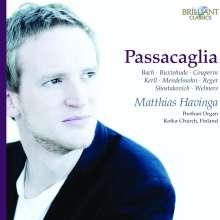 Matthias Havinga - Passacaglia, CD