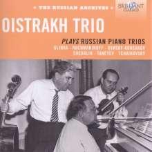 Oistrach Trio Plays Russian Piano Trios, 3 CDs