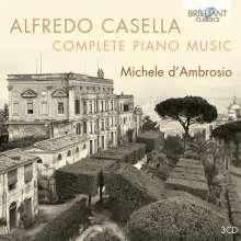 Alfredo Casella (1883-1947): Sämtliche Klavierwerke, 3 CDs