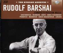 Rudolf Barshai conducts Russian Music - Russian Archives, 3 CDs