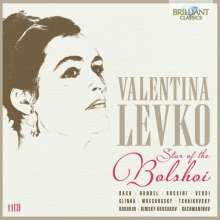 Valentina Levko - Stars of the Bolshoi, 11 CDs