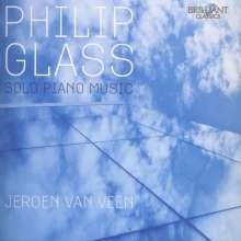 Philip Glass (geb. 1937): Solo Piano Music, 3 CDs