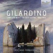 Angelo Gilardino (geb. 1941): Sämtliche Gitarrenwerke 1965-2013, 14 CDs