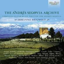 Ermanno Brignolo - The Andres Segovia Archive (Complete Guitar Music Written For Andres Segovia), 7 CDs