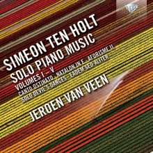Simeon ten Holt (1923-2012): Solo Piano Music Vol.1-5, 5 CDs