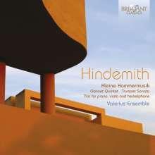 Paul Hindemith (1895-1963): Kleine Kammermusik op.24 Nr.2 für Bläserquintett, CD