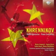 Tikhon Khrennikov (1913-2007): Klavierkonzerte Nr.2 & 3 (op.21 & 28), CD