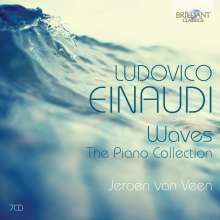 Ludovico Einaudi (geb. 1955): Waves - The Piano Collection, 7 CDs