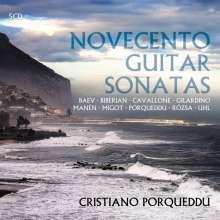 Cristiano Porqueddu - Novecento Guitar Sonatas, 5 CDs