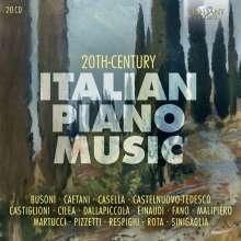 20th Century Italian Piano Music, 20 CDs