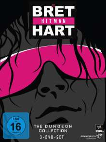 """Bret """"Hit Man"""" Hart - The Dungeon Collection, 3 DVDs"""