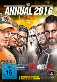 WWE - Annual 2016, 6 DVDs