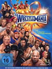 Wrestlemania 33, 3 DVDs