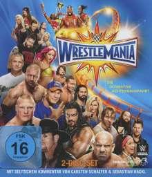 Wrestlemania 33 (Blu-ray), 2 Blu-ray Discs