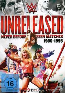 WWE UNRELEASED - Never Before Seen Matches: 1986-1995, 3 DVDs