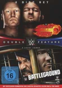 WWE: Great Balls of Fire / Battleground 2017, 2 DVDs