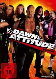 WWE: 1997 Dawn of the Attitude, 3 DVDs