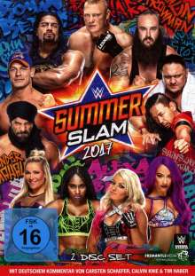 Summerslam 2017, 2 DVDs