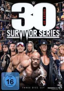 WWE - 30 Years of Survivor Series, 3 DVDs