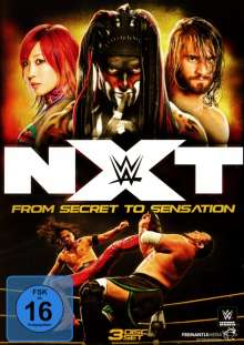 WWE NXT - From Secret To Sensation, 3 DVDs