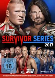 WWE - Survivor Series 2017, 2 DVDs
