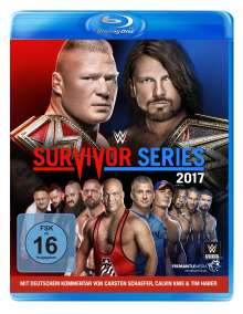 WWE - Survivor Series 2017 (Blu-ray), Blu-ray Disc