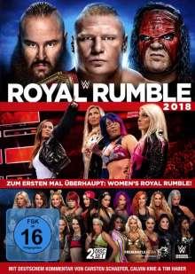 Royal Rumble 2018, 2 DVDs